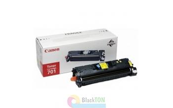 Заправка картриджа Canon 701 Yellow