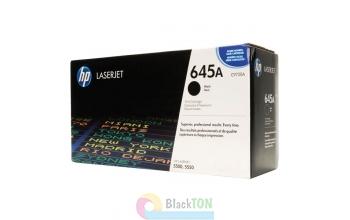 Заправка картриджа HP 645A black C9730A