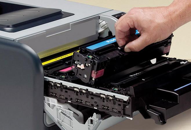 Заправка тонера для лазерного принтера